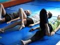 échauffements atelier 12-18 ans école de cirque Oreka Bayonne