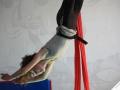 longe de sécurité en action atelier 12-18 ans école de cirque Oreka Bayonne