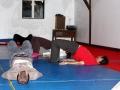 échauffement cours adultes acrobaties et aériens à Oreka