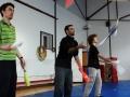 Atelier passing massues cours adultes jonglerie à Oreka