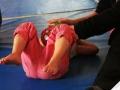 après l'effort le réconfort séance de massage atelier cirque Oreka