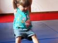débuts au trapèze atelier cirque Oreka