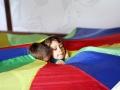 sortie du parachute atelier cirque Oreka