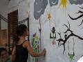 projet soutenu par le CUCS cirque et peinture (54)