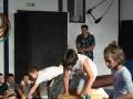 projet soutenu par le CUCS cirque et peinture (69)